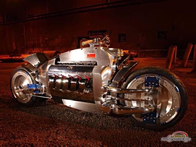 世界上最贵的摩托车 道奇战斧高清图片